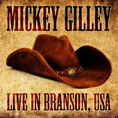 Live in Branson, USA de Mickey Gilley