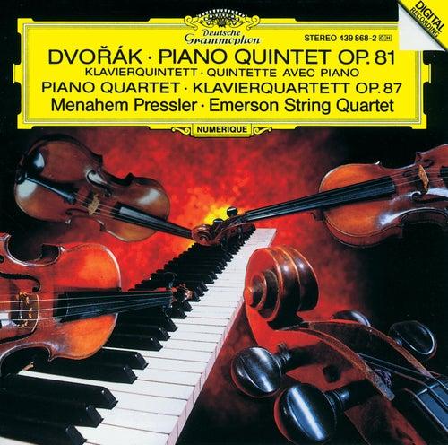 Dvorák: Piano Quintet, Op. 81 / Piano Quartet, Op. 87 by Emerson String Quartet