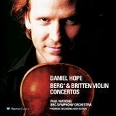 Berg & Britten : Violin Concertos by Daniel Hope (Classical)