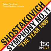 "Shostakovich: Symphony No. 11, ""The Year 1905"" de Toronto Symphony Orchestra"