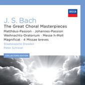J.S. Bach: The Great Choral Masterpieces di Rundfunkchor Leipzig
