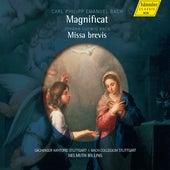 C.P.E. Bach: Magnificat, Wq. 215 - J.L. Bach: Missa brevis by Various Artists