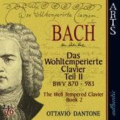 Bach: The Well-Tempered Clavier, Book 2 - BWV 870-893 by Ottavio Dantone