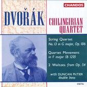 Dvořák: String Quartet No. 13 in G Major, Op. 106, Quartet Movement in F Major & 2 Waltzes from Op. 54 by Chilingirian String Quartet