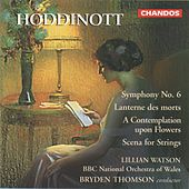 Hoddinott: Symphony No. 6, Lanternes des morts, A Contemplation upon Flowers & Scene for Strings by Various Artists