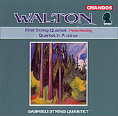 Walton: String Quartets by Gabrieli String Quartet