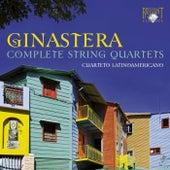 Ginastera: Complete String Quartets by Cuarteto Latinoamericano