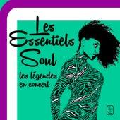 Les Essentiels Soul: les légendes en concert, 30 performances live par les Whispers, Delfonics et Temptations! by Various Artists