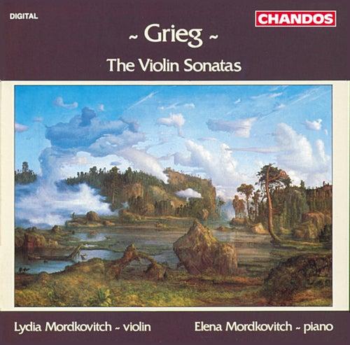 Grieg: The Violin Sonatas by Lydia Mordkovitch