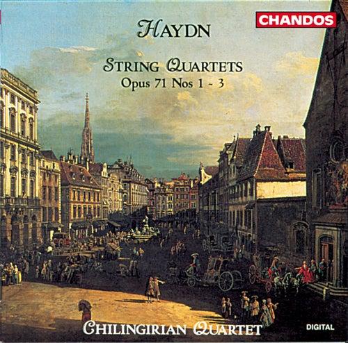 Haydn: String Quartets, Op. 71, Nos. 1-3 by Chilingirian String Quartet