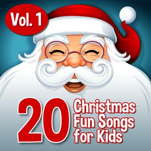 20 Xmas Fun Songs for Kids, Vol. 1 by Santa's Little Helpers