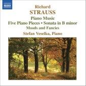 STRAUSS, R: Piano Sonata / 5 Piano Pieces / Stimmungsbilder by Stefan Veselka