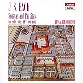 Bach: Sonatas and Partitas, BWV 1001-1006 by Lydia Mordkovitch