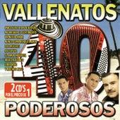 40 Vallenatos Poderosos von Various Artists