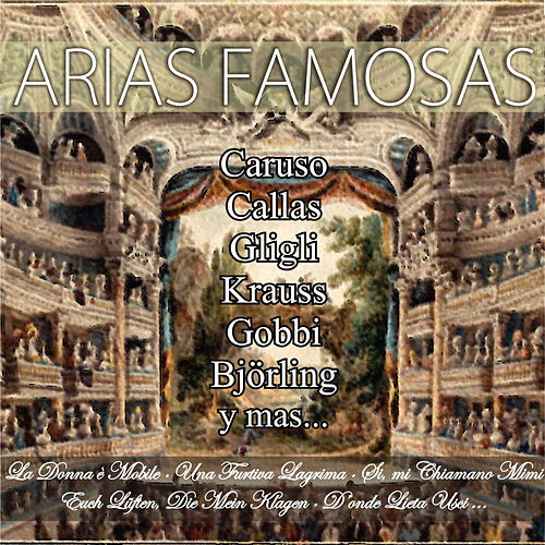 Arias Famosas by Various Artists