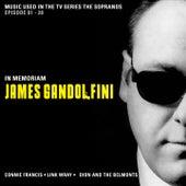 Music used in the TV Series The Sopranos - In Memoriam James Gandolfini (Episode 01 - 28) de Various Artists