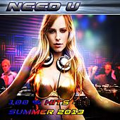 Need U (100 % Hits - Summer 2013) von Various Artists