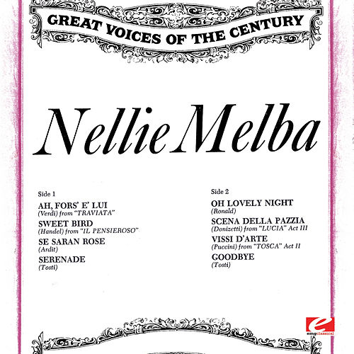 Great Voices of the Century: Nellie Melba by Nellie Melba