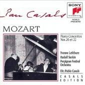 Mozart: Piano Concerto No. 20, K. 466; Piano Concerto No. 22, K. 482 von Pablo Casals