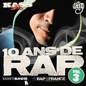 10 Ans De Rap, Vol.3 de Various Artists