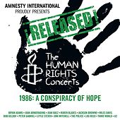 ¡Released! The Human Rights Concerts - A Conspiracy Of Hope (Live From New Jersey/1986) by Various Artists
