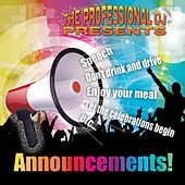 Announcements! by The Professional DJ