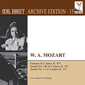 Mozart: Keyboard Works (Biret Archive Edition, Vol. 15) by Idil Biret
