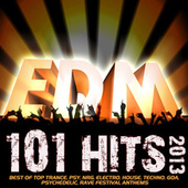 101 Edm Hits 2013 - Best of Top Trance, Psy, Nrg, Electro, House, Techno, Goa, Psychedelic, Rave Festival Anthems by Various Artists