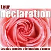 Leur déclaration (Les plus grandes déclarations d'amour) de Various Artists