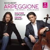 Gautier Capuçon plays Schubert, Schumann, Debussy & Britten de Frank Braley Gautier Capuçon