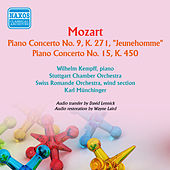 Mozart: Piano Concertos Nos. 9 & 15 von Wilhelm Kempff
