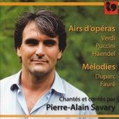 Verdi, Puccini & Handel: Airs d'opéras - Duparc & Fauré: Mélodies by Various Artists