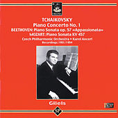 Emil Gilels Plays Tchaikovsky, Beethoven & Mozart by Emil Gilels