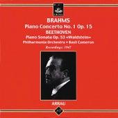 Brahms: Piano Concerto No. 1 - Beethoven: Piano Sonata No. 21 von Claudio Arrau