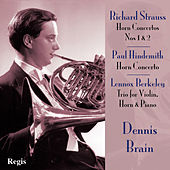 Strauss and Hindemith Horn Concertos by Various Artists