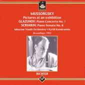 Mussorgsky: Pictures at en Exhibition - Glazunov - Scriabin de Sviatoslav Richter