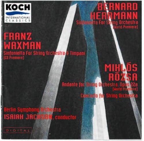Herrmann / Waxman / Rozsa by Various Artists