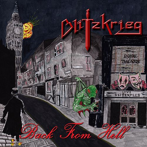Back from Hell by Blitzkrieg (Metal)