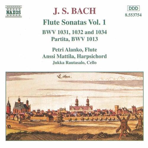 Flute Sonatas Vol. 1 by Johann Sebastian Bach