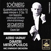 Schönberg: String Quartet No. 2 by Various Artists