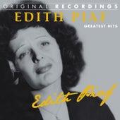 Edith Piaf: Greatest Hits de Edith Piaf