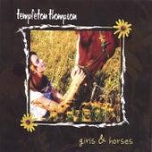 girls & horses by Templeton Thompson