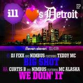 The Ill <3's Detroit EP by DJ Fixx