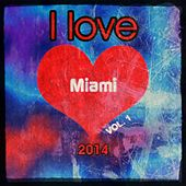 I love Miami 2014, Vol. 1 (Super Top 20 Charts Random Extended Tunes Festival Edm House Electro Greatest Hits) by Various Artists
