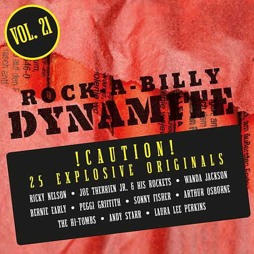 Rock-A-Billy Dynamite, Vol. 21 de Various Artists