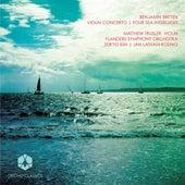 Britten: Violin Concerto & 4 Sea Interludes by Various Artists