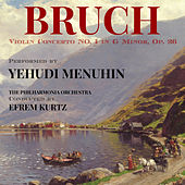Bruch: Violin Concerto No. 1 in G minor, Op. 26 von Yehudi Menuhin