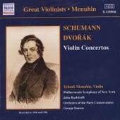 Schumann / Dvorak: Violin Concertos by Various Artists
