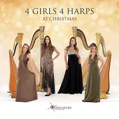 4 Girls 4 Harps at Christmas by 4 Girls 4 Harps