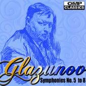 Glazunov Symphonies No. 5 to 8 de Vladimir Fedoseyev